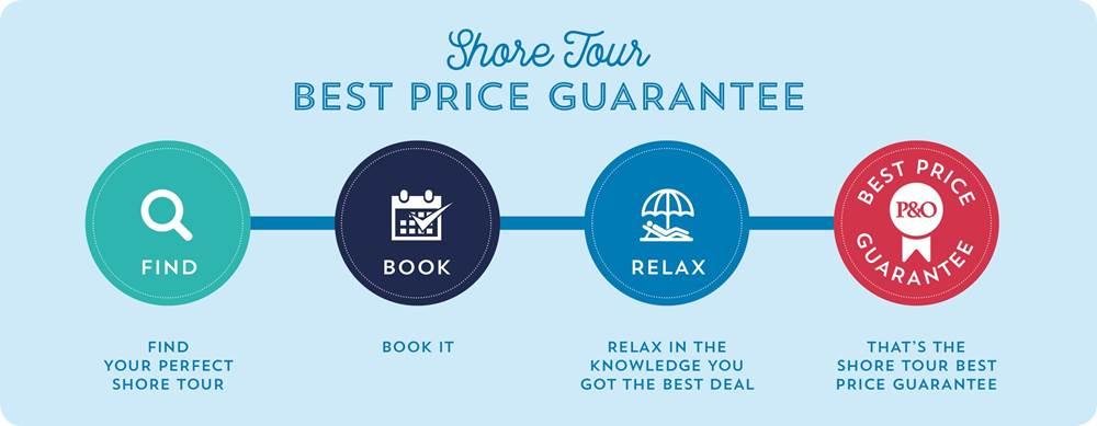 Shore Tour Best Price Guarantee
