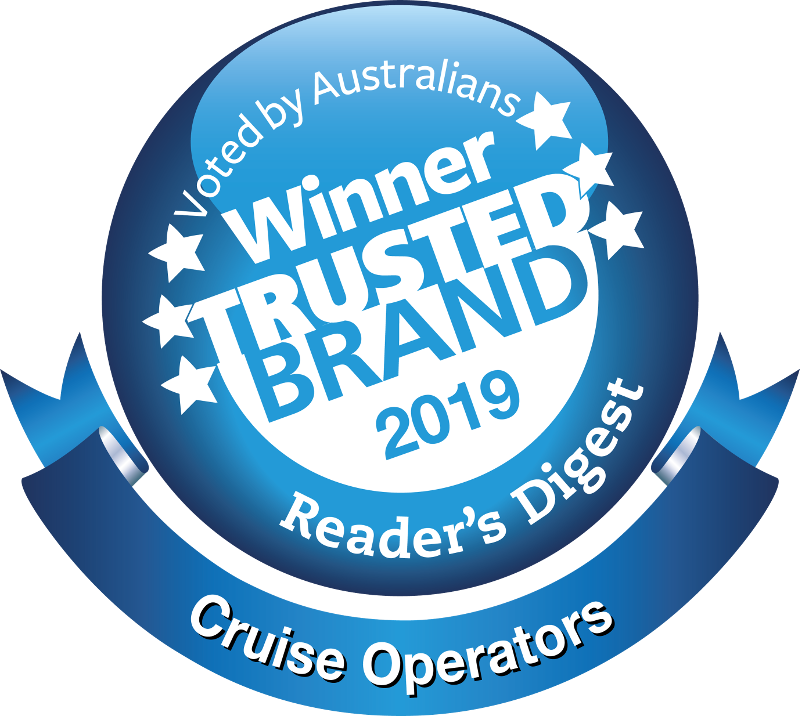 Winner Trusted Brand - Cruise Operators - Reader's Digest 2019
