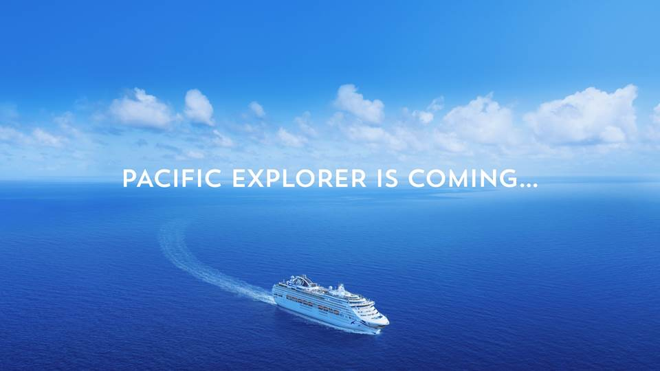 P&O Cruises - Pacific Explorer is coming to NZ